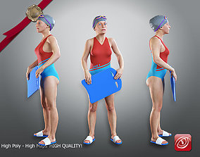 SwwimmingPool Female ACC 2130 010 3D model