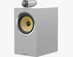 Bowers and Wilkins CM6 S2 Satin White 3D