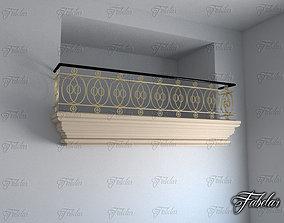 3D Balcony