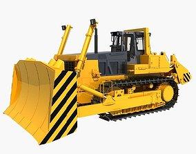 Bulldozer 02 3D model