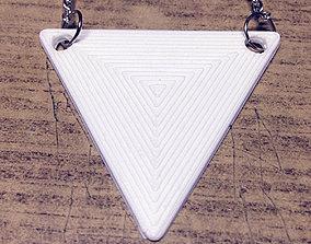 3D printable model Triangle Pendant