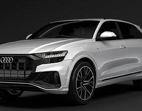 Audi Q8 2019 audi 3D model