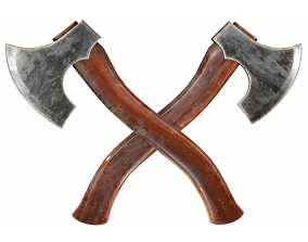 3D model One Handed Axe -Game Ready-