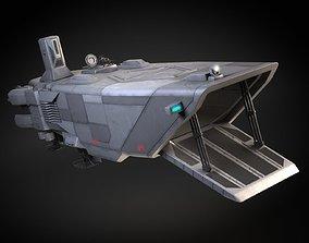 Star Wars Transporter - Atmospheric Assault Lander 3D