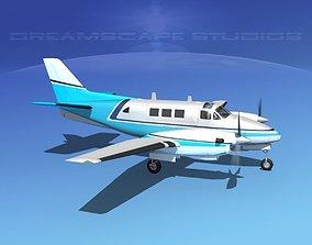 Beechcraft King Air 90 V02 3D