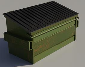 backyard Ordinary Dumpster 3D model