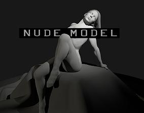 3D Nude Female Art Model