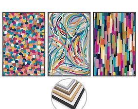 Wall Art Set 3638 3D asset