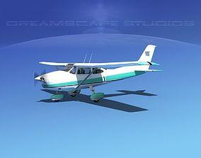 Cessna 182 Skylane V12 3D model