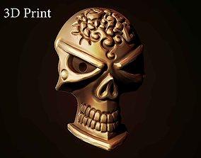3D print model sculpture Pirate skull