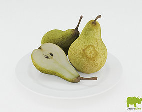 real Pears 3D Model
