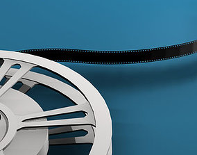 3D spool Film reel