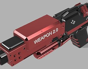 HANDGUN weapon 3D