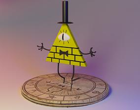 Bill Cipher From Gravity Falls 3D print model