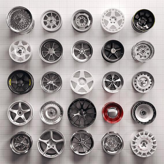 Wall of Wheels