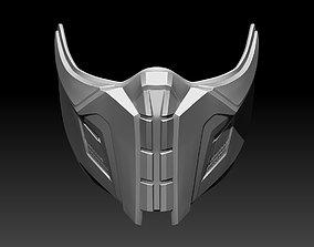 3D print model Sub Zero mask for cosplay Mortal Kombat 11