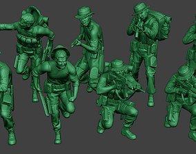 Modern Jungle Soldiers MJS1 Pack 2 3D