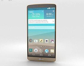 3D LG G3 Shine Gold