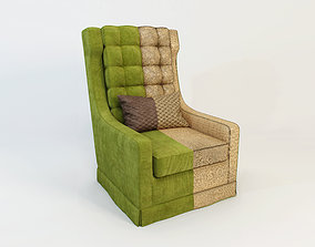3D model Red Forman armchair - That 70s Show