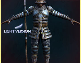 3D model City Guard Light Version