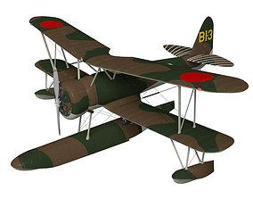 Nakajima E8N Dave 3D model