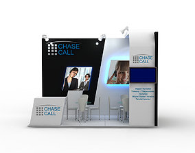 3D model Chasecall Exhibition Design