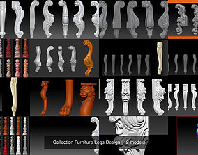 Collection Furniture Legs Design 3D