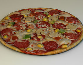 domino Pizza 3D model