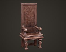 3D asset Christian Bishop armchair