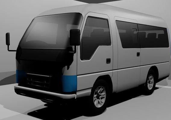 3D Elf Microbus Isuzu