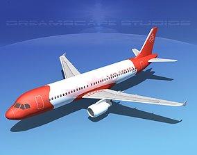 Airbus A320 LP Air Canada 65 3D asset