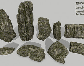 rocks other 3D asset game-ready