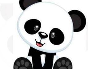 3D print model Panda Bear Cookie Cutter Set