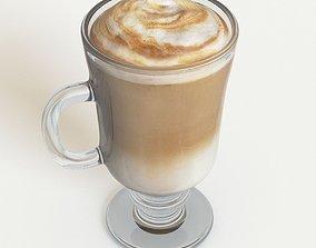 Coffee Latte 3D model