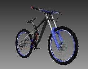 downhill bike bicycle 3D