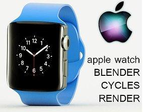 Apple Watch 3D model animated
