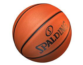 Basketball Spalding 3D asset