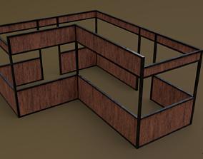 3D asset Stall stand 13 R