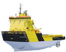arctic Icebreaker Tor Viking 3D model