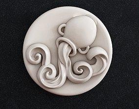 Aquarius zodiac 3D print model