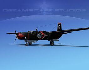Douglas A-26B Invader V06 3D