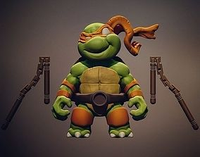 3D print model Chibi mutant ninja turtles - Mickey