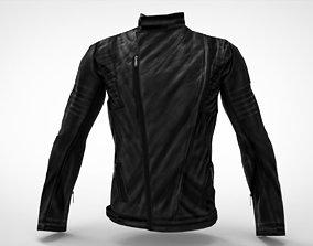 Biker old school jacket 3D model