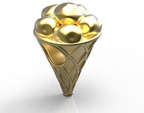 3D print model Ice Cream Charm