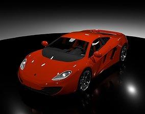 3D model Mclaren 12c