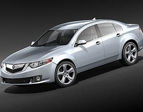 Acura TSX 2009 3D model