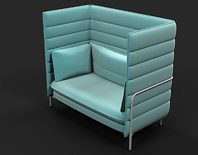 3D model Vitra Alcove Chair