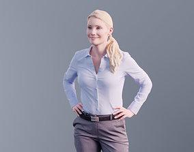 3D asset Kim 10172 - Standing Business Woman