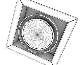 3D Ceiling Halogen 3