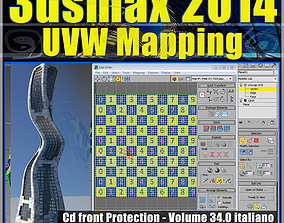 videocorso3dsmax 3dsmax 2014 UVW Mapping v 34 cd front